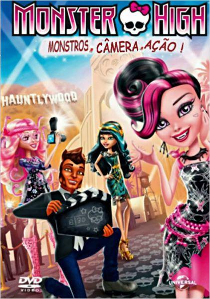 Monster High - Monstros, Câmera, Ação  (2014)