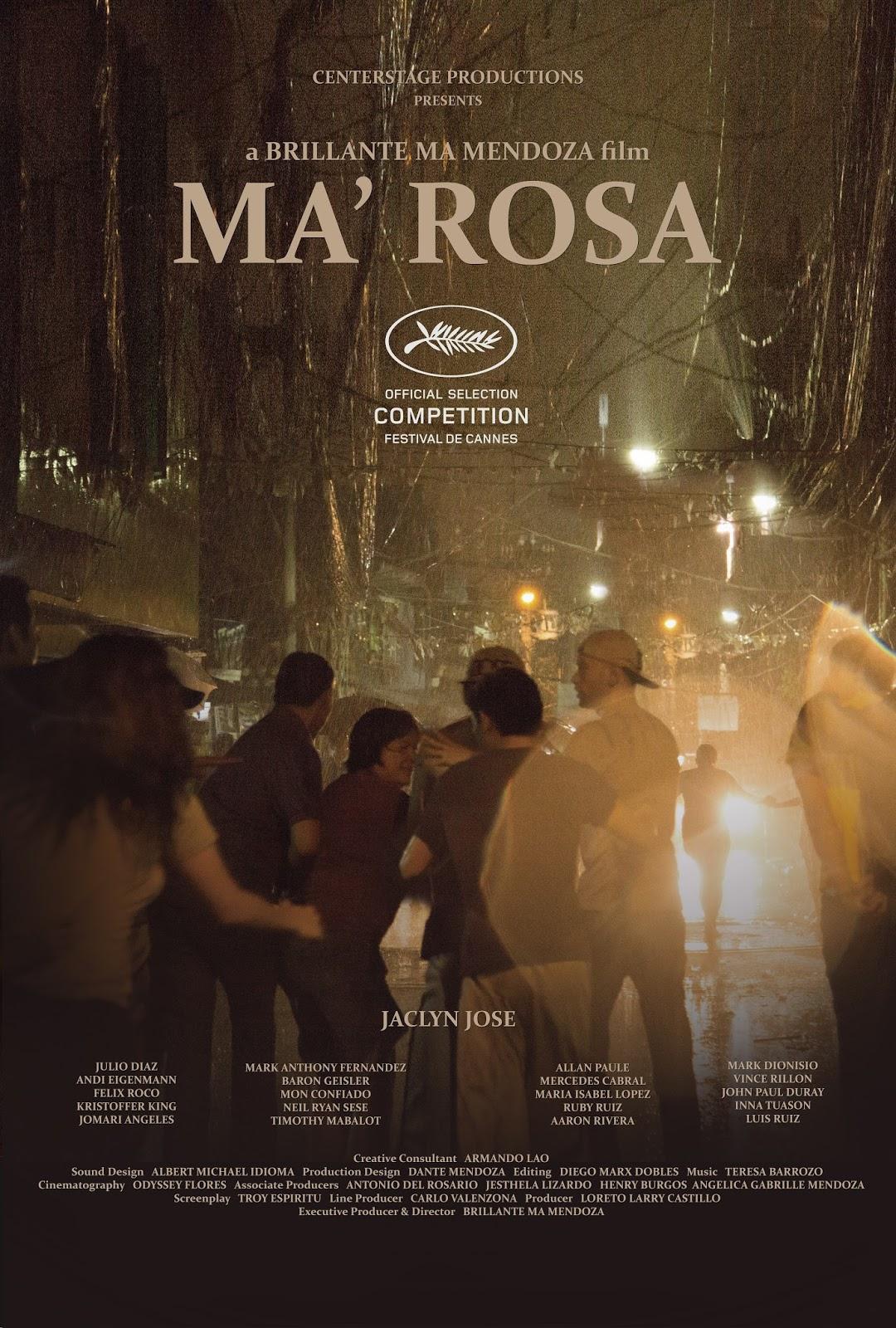 Ma'Rosa (2016)