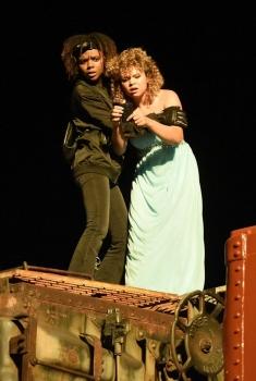 Deidra and Laney Rob a Train (2017)